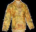 Jaket Kulit Wanita Motif Tentara